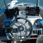 Waverider 550, Mick's centre console set up.