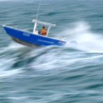 Overtaking waves is easier and safer due to the hydrofoil technology in the hull design