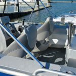 WR 450 Bowrider's rear deck area