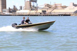 Aus Ships driving Waverider