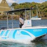 SEQ Water boat, built to survey for government use.