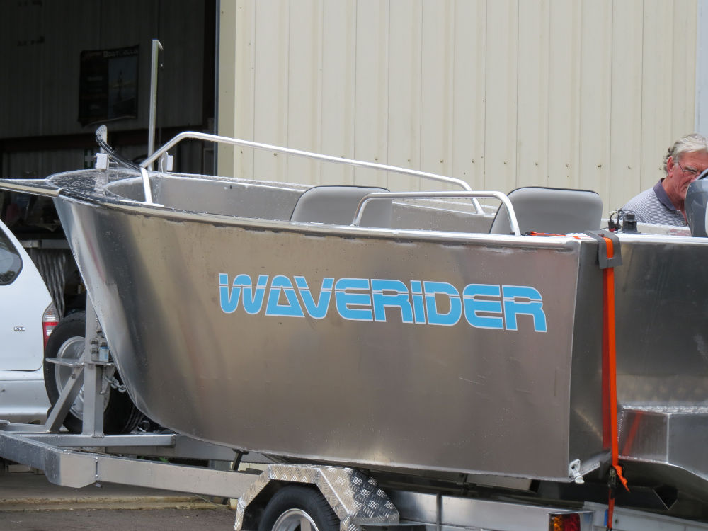 The Waverider 475 is a lot of boat for its size.