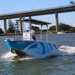 SEQ Water's Waverider 550 CC, on Brisbane River
