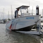 Launch & retrieve is always easy - even with the hydrofoils