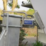 Boat Catch (self-catching coupling system), installed on boat & trailerr.